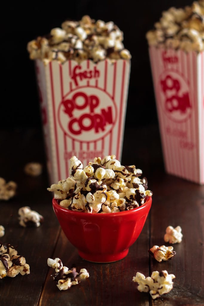 Mexican Chocolate Popcorn