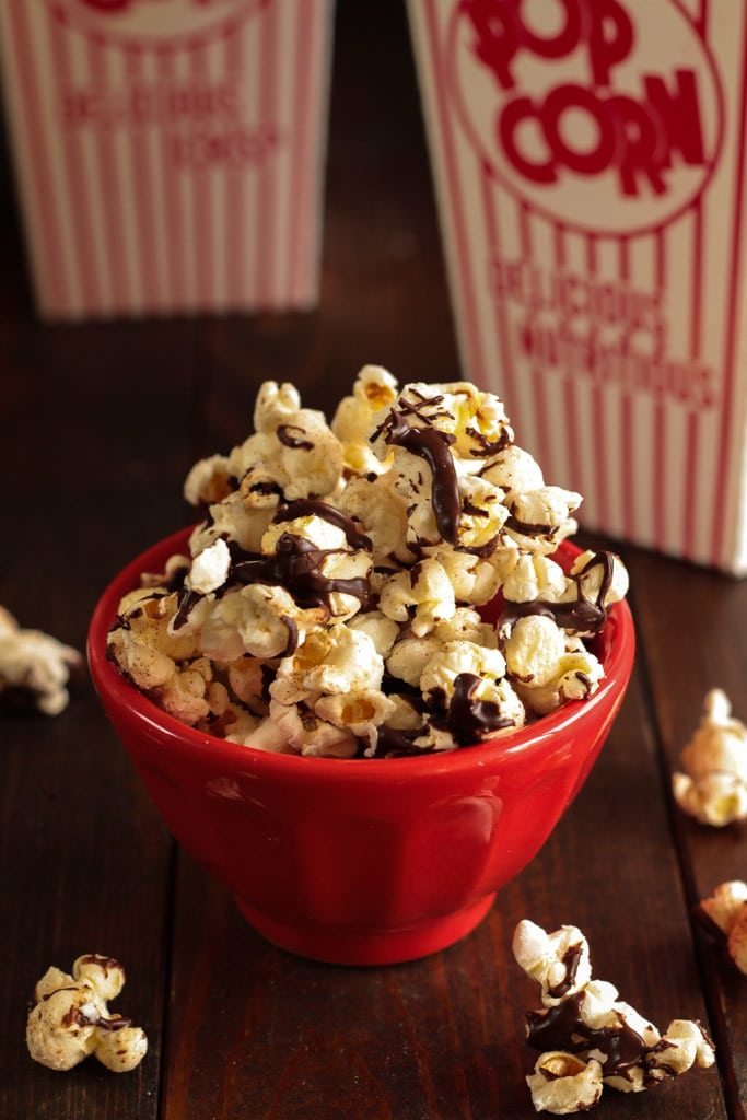 Mexican Hot Chocolate Popcorn