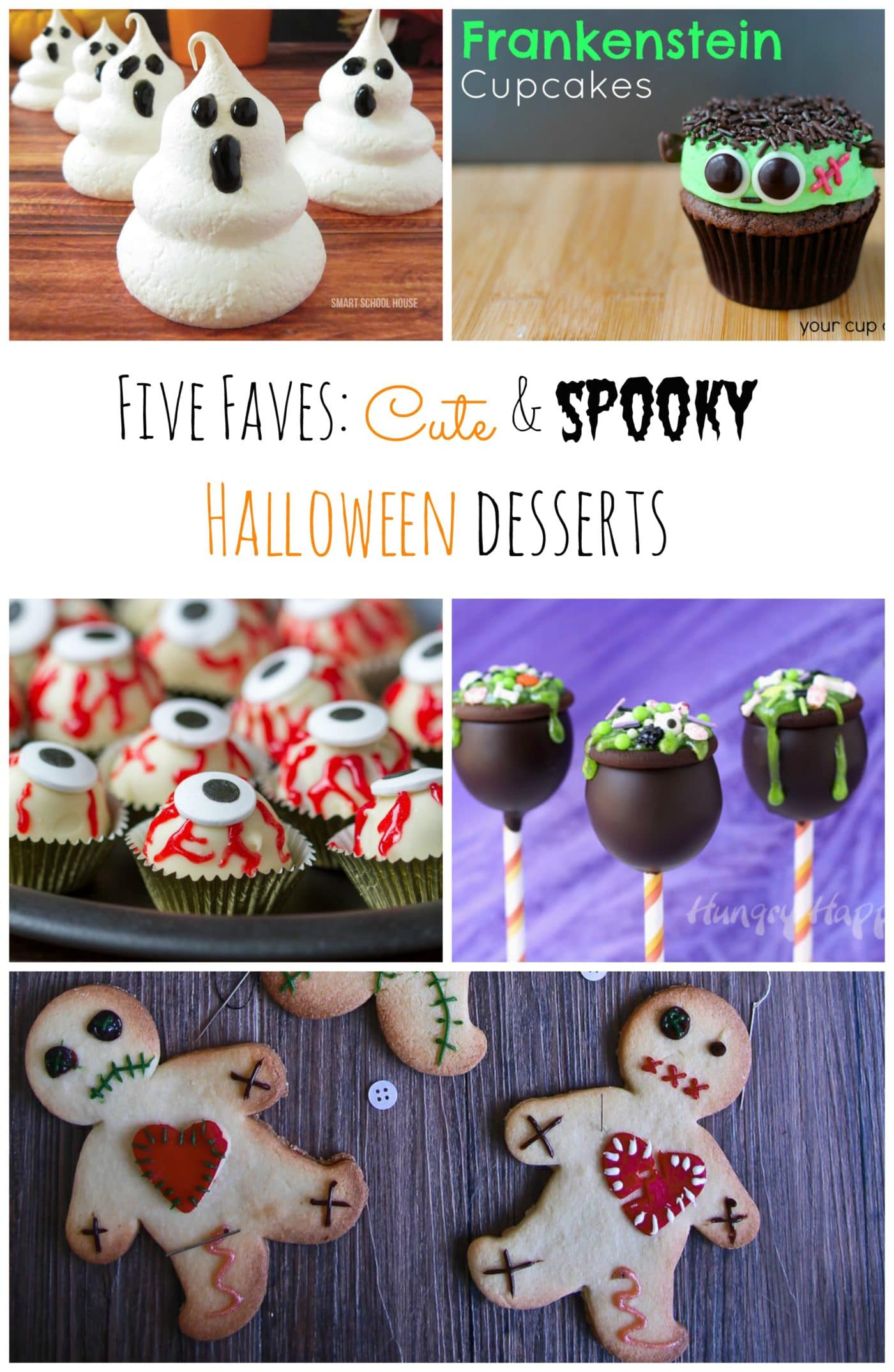 Five Faves Cute Amp Spooky Halloween Desserts Le Petit Eats