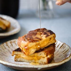 Pumpkin Cheesecake Stuffed French Toast