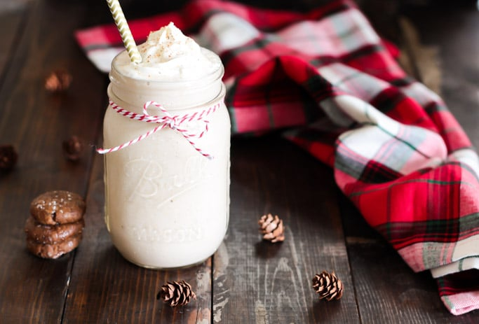 Gingerbread Breakfast Smoothie