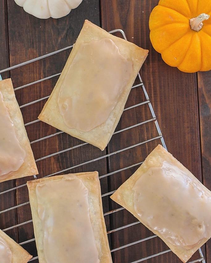 november photos pumpkin pop tarts