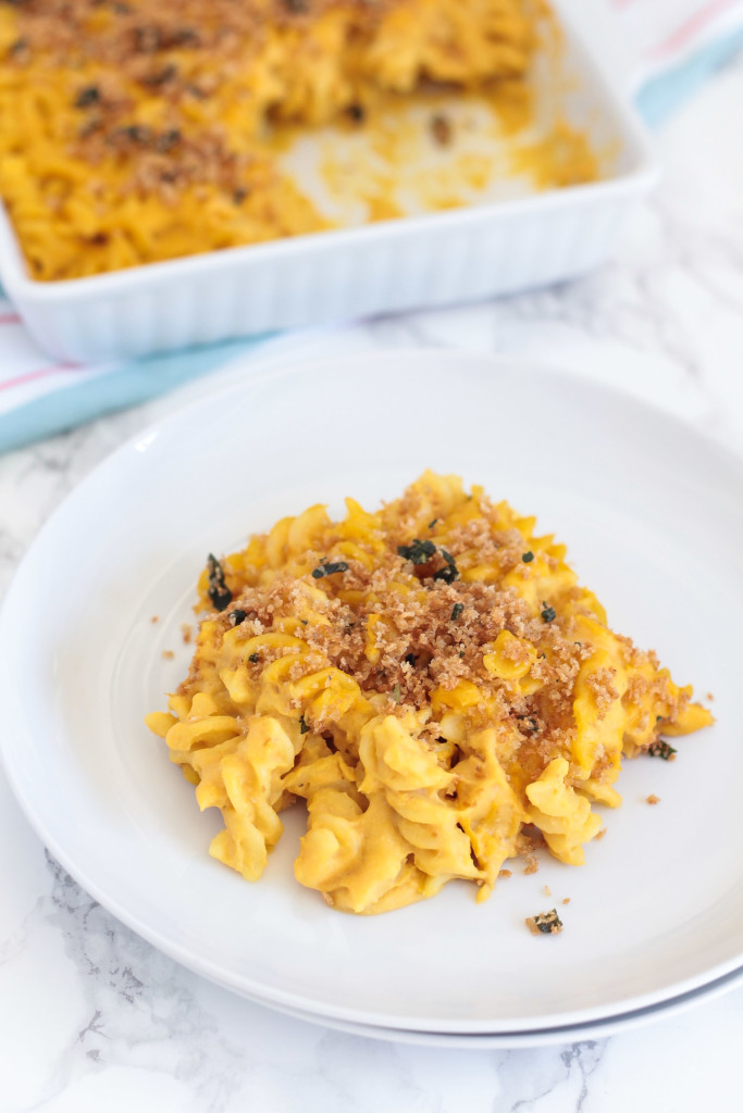 Vegan Butternut Squash Macaroni and Cheese