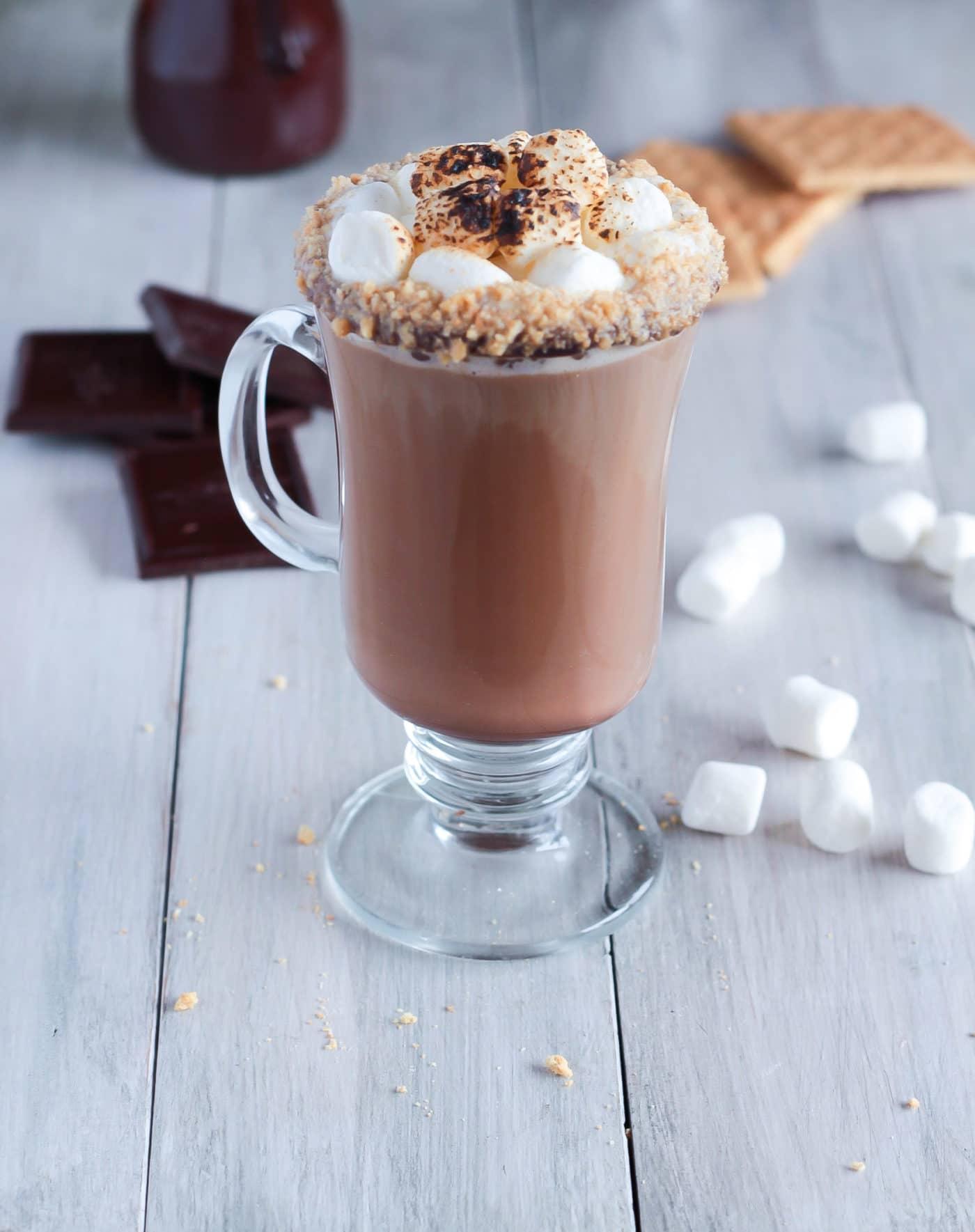 s u0026 39 mores latte