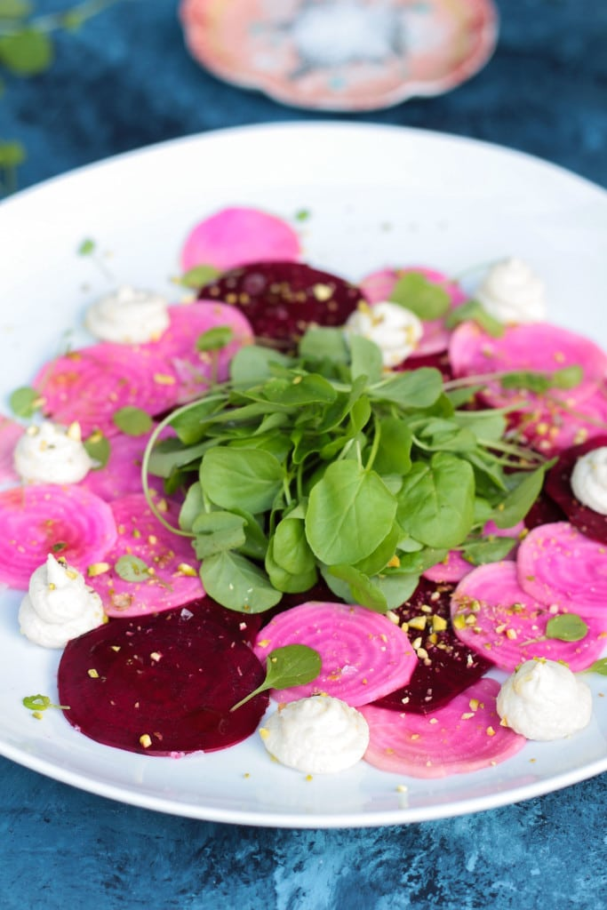 Pickled Beet Carpaccio
