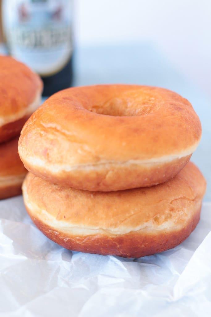 Root Beer Float Donuts