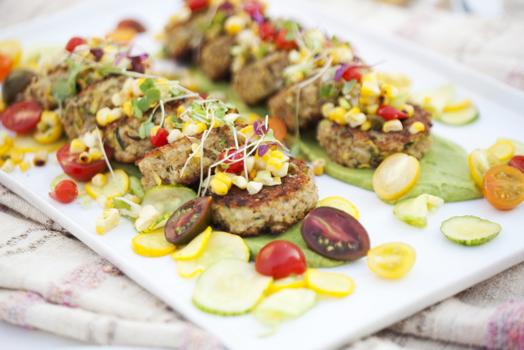End of Summer Quinoa Cakes