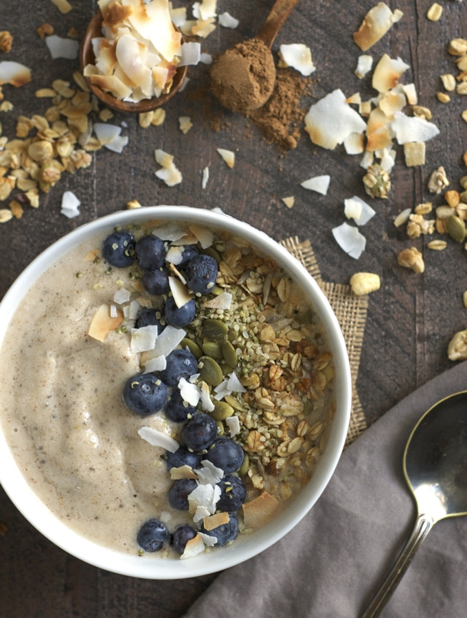Maple Chai Smoothie Bowls