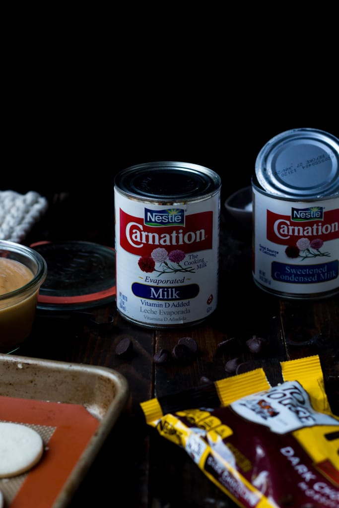 Dark Chocolate Alfajores with Sea Salt