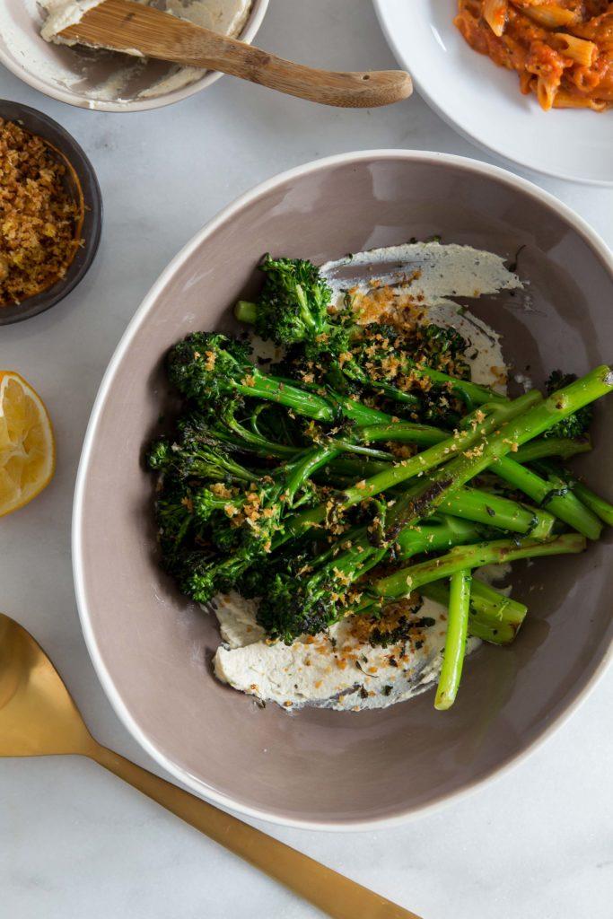 Charred Broccolini