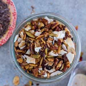 Coconut Cacao Paleo Granola