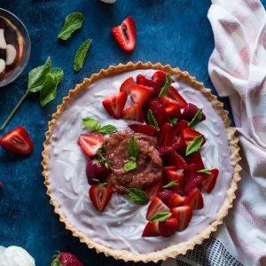 Strawberry Vanilla Tart
