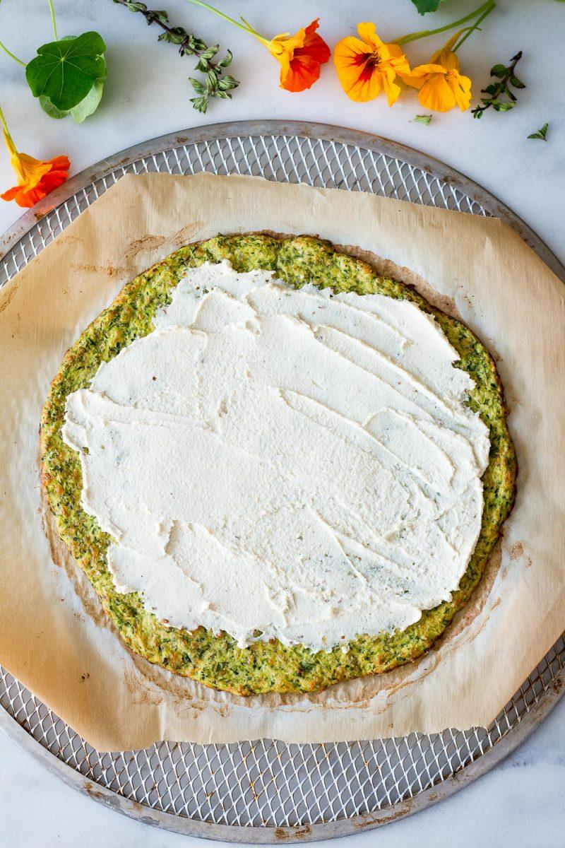 Zucchini Crust Flatbread