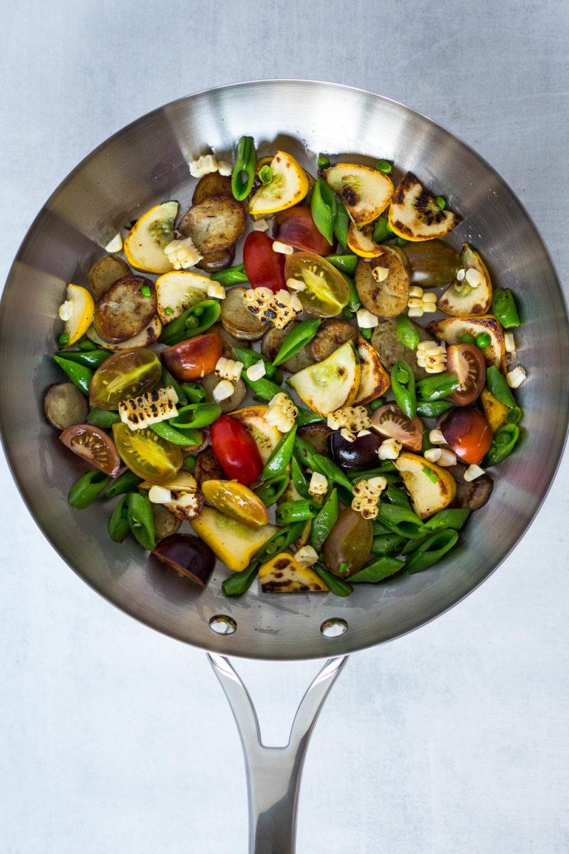 Summer Vegetable Polenta Bowls