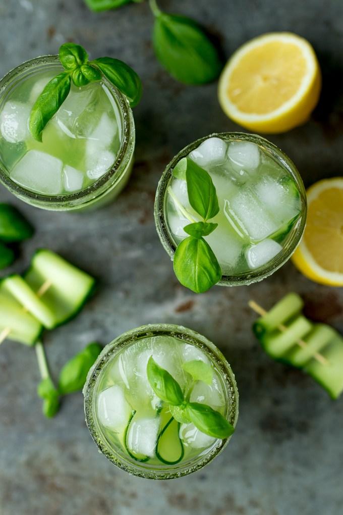 farmer's market inspired summer cocktails