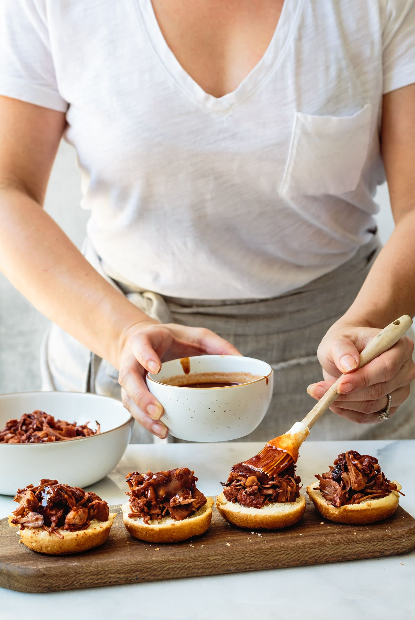 Jackfruit Sliders