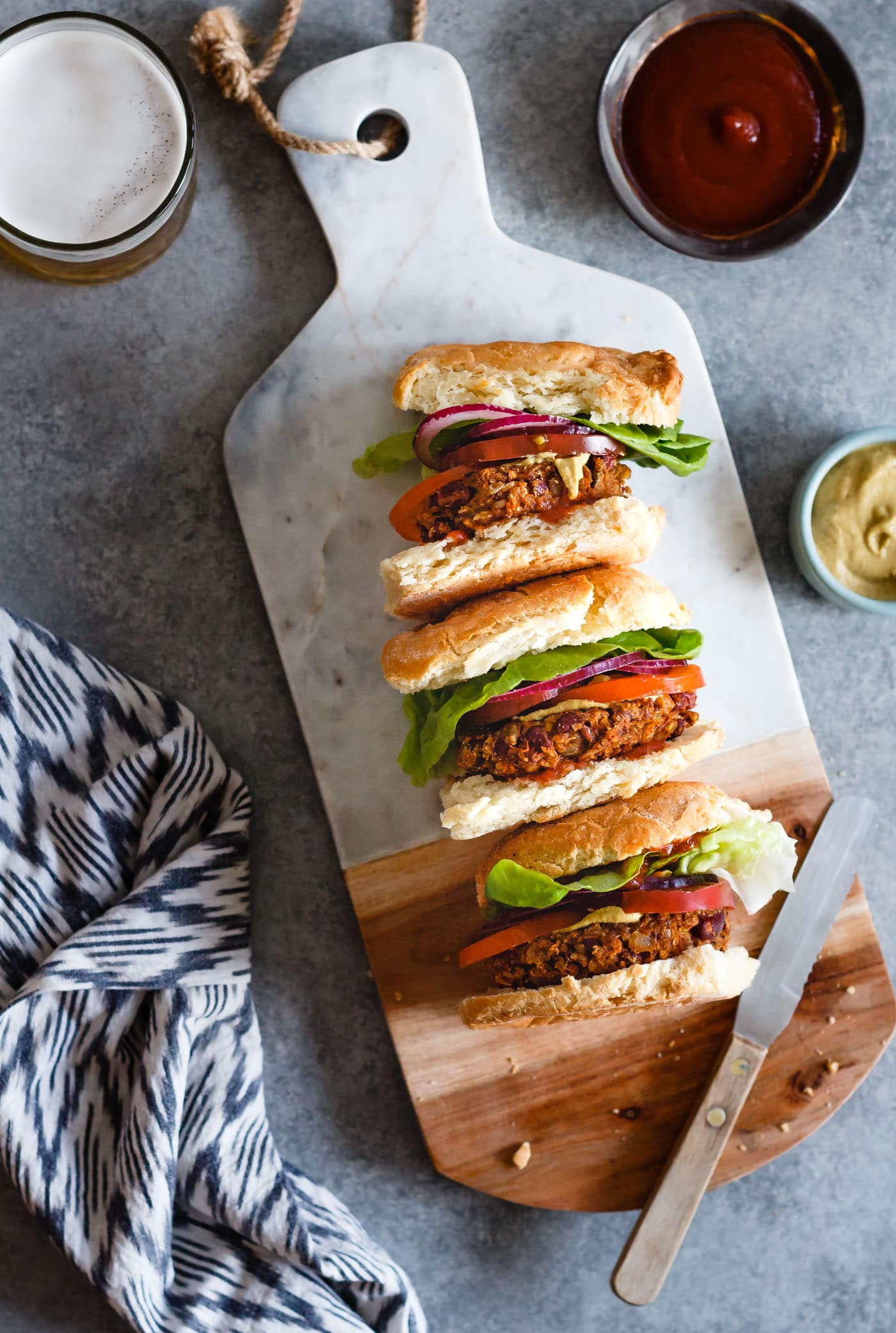 The Ultimate Grillable Veggie Burger