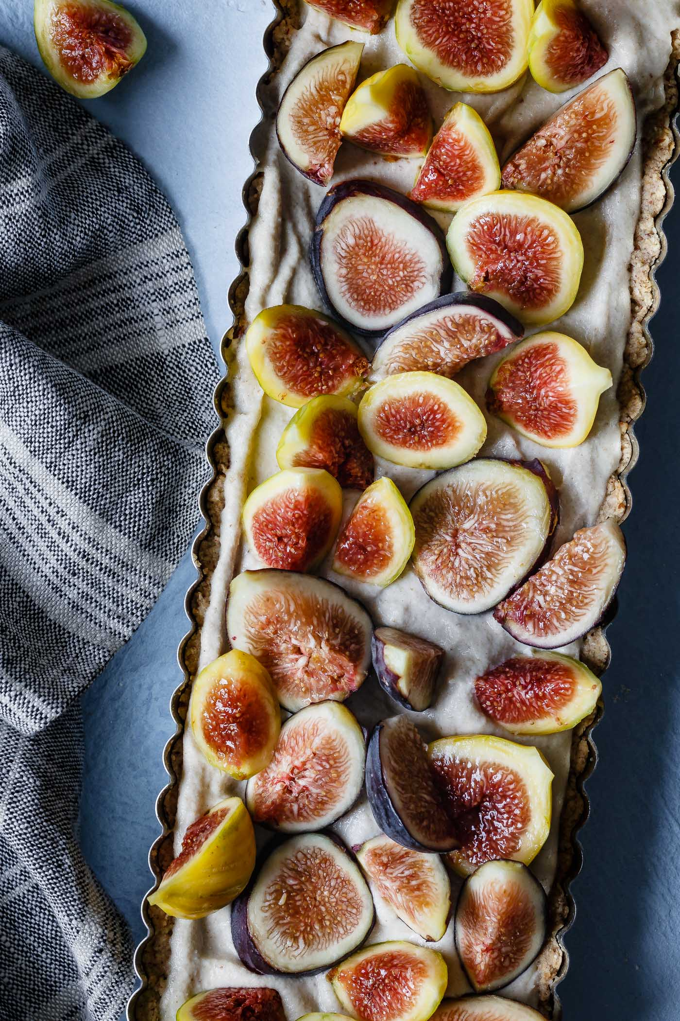 Honey Cardamom Fig Tart