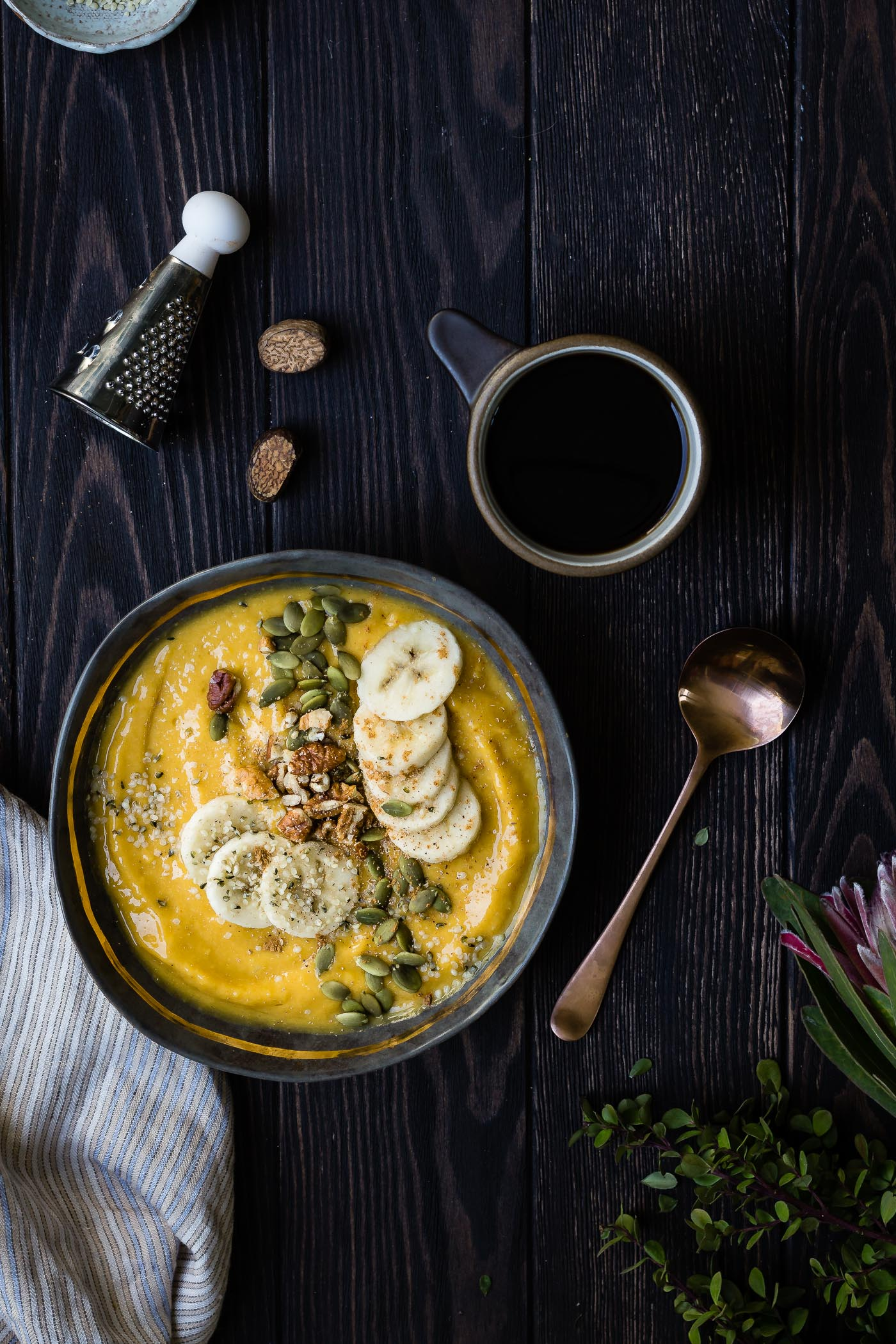 Mango Pumpkin Smoothie Bowl