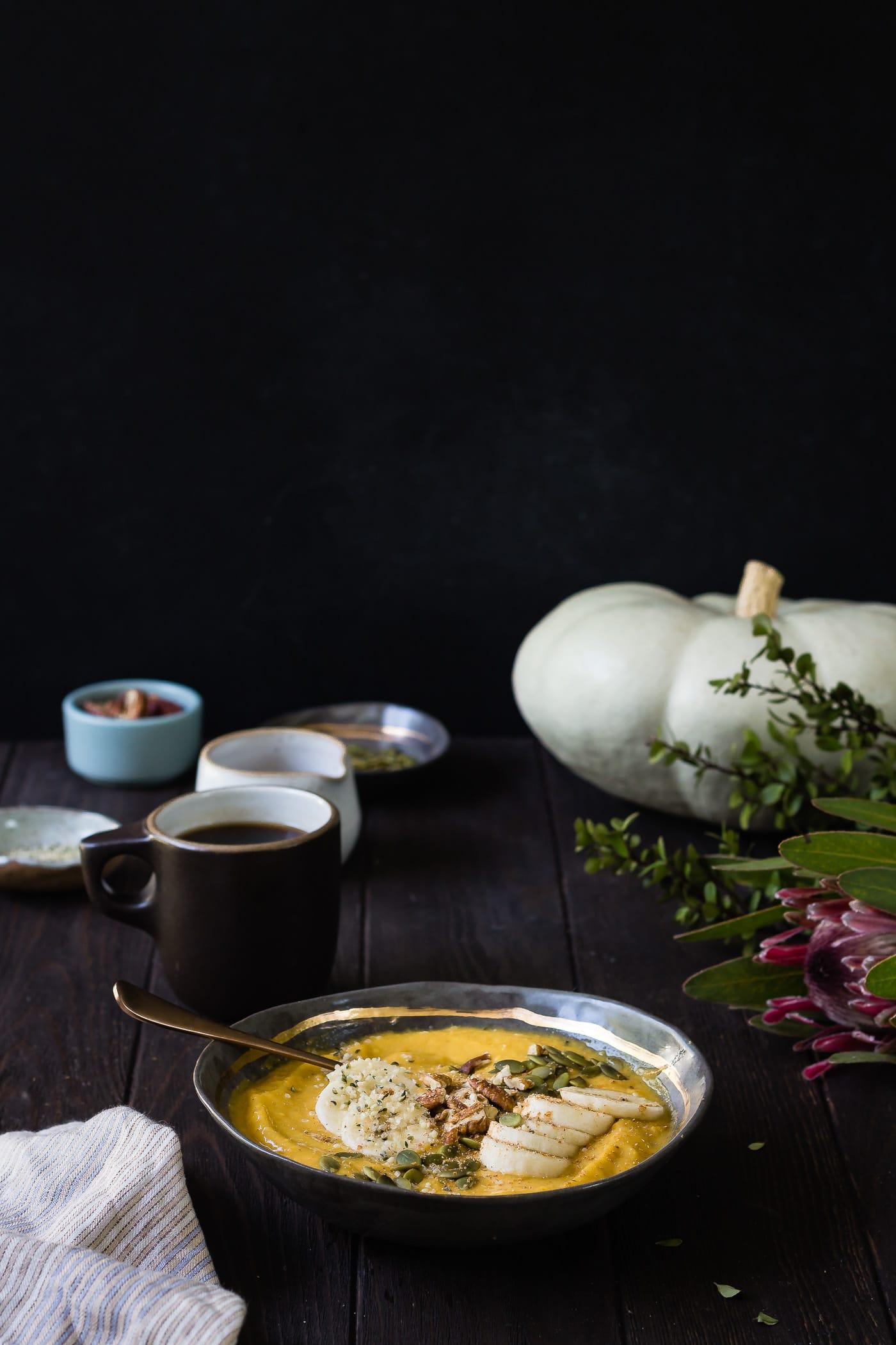 Mango Pumpkin Smoothie Bowl