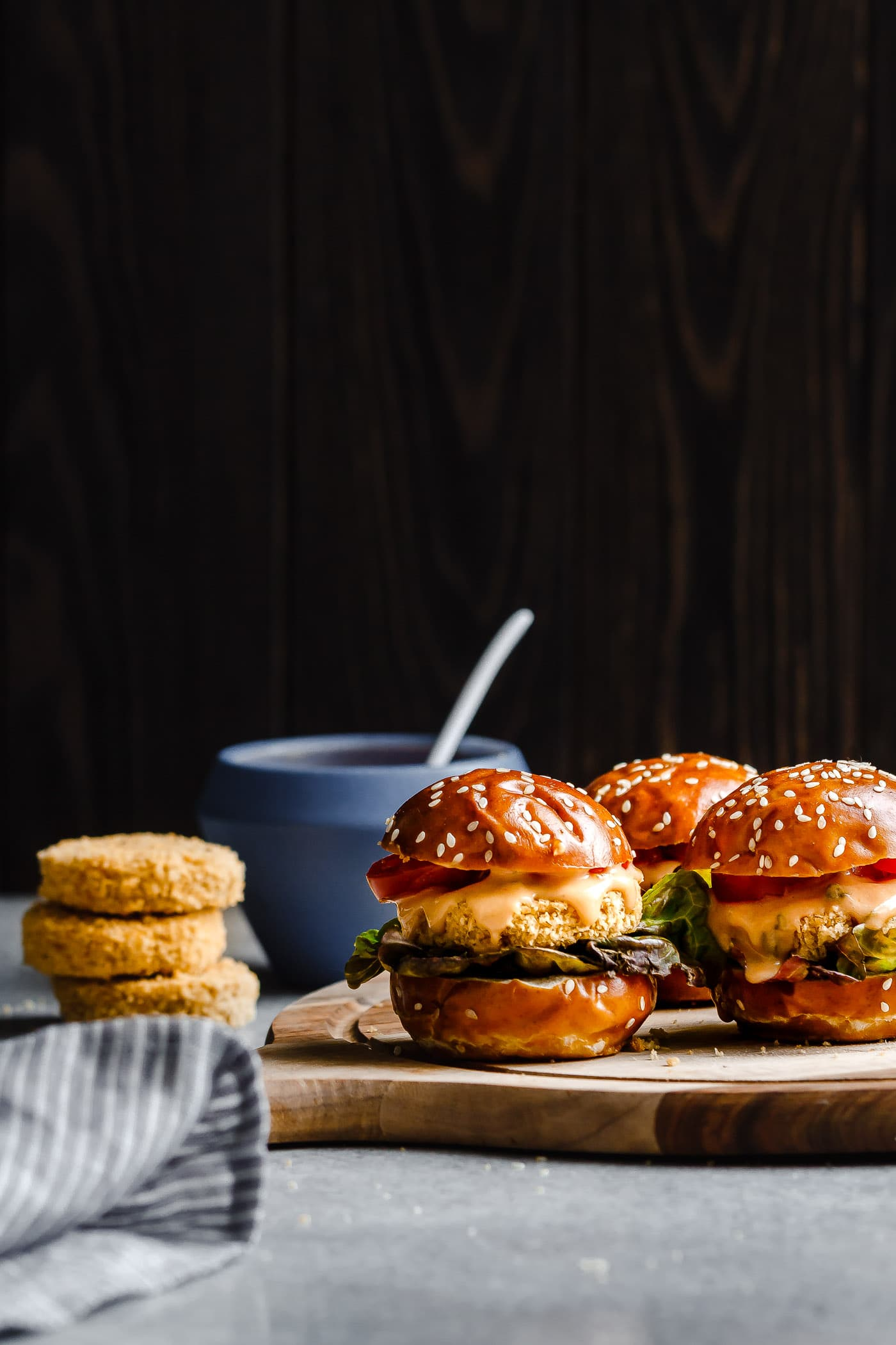 Crispy Chickpea Sliders