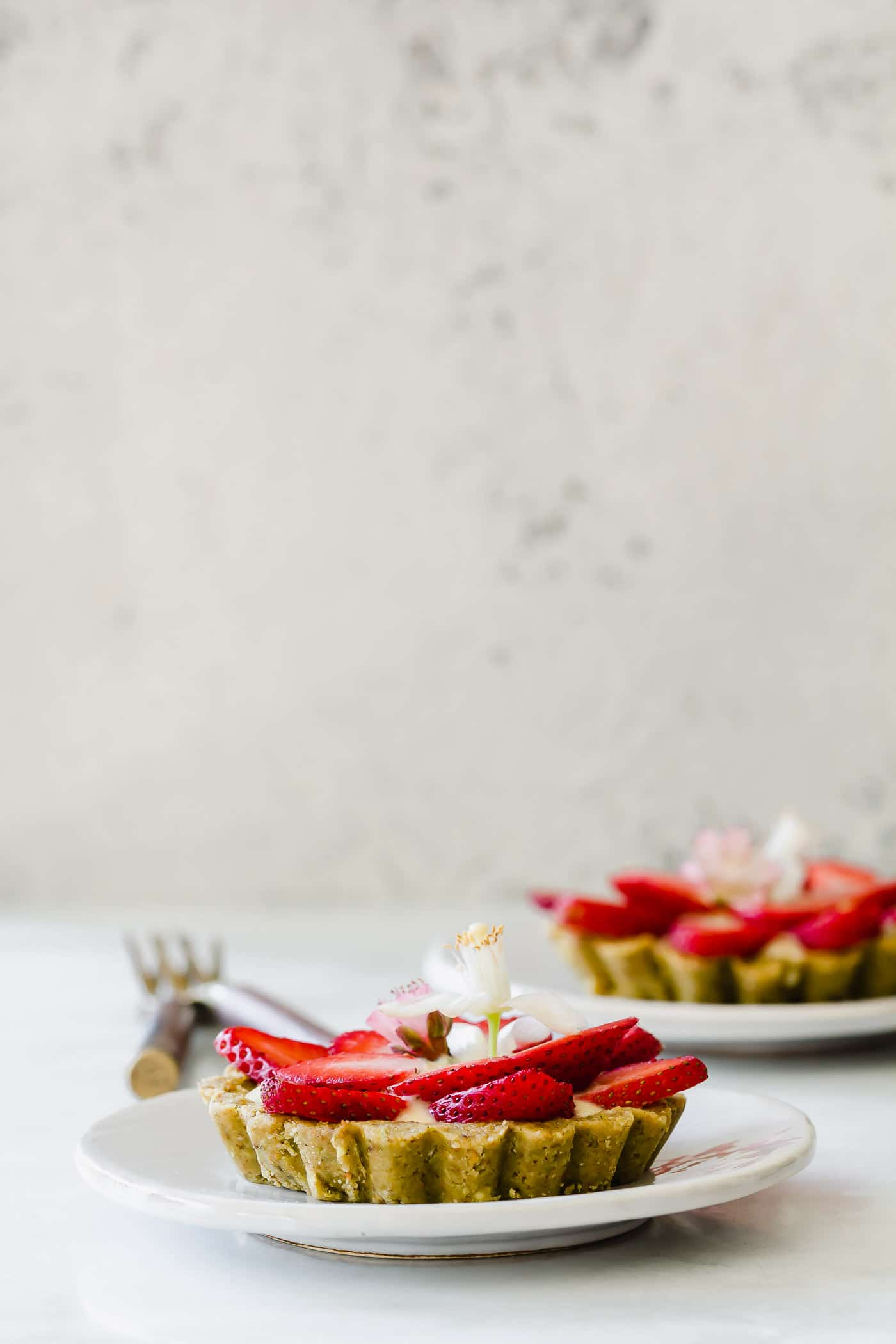 Strawberry Orange Blossom Tartlets