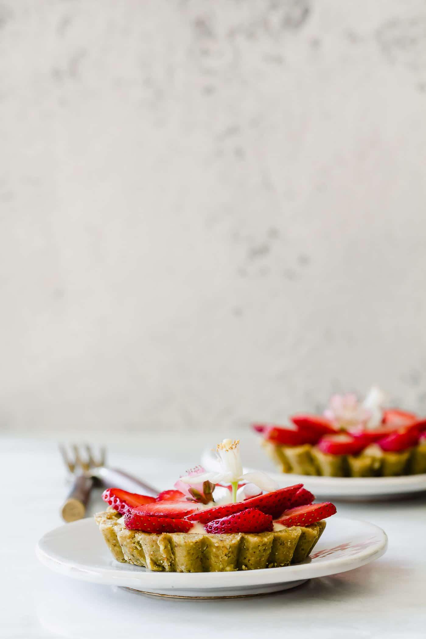 Strawberry Orange Blossom Tartlets