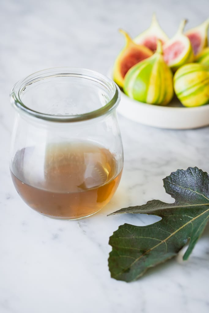 Fig Leaf Simple Syrup