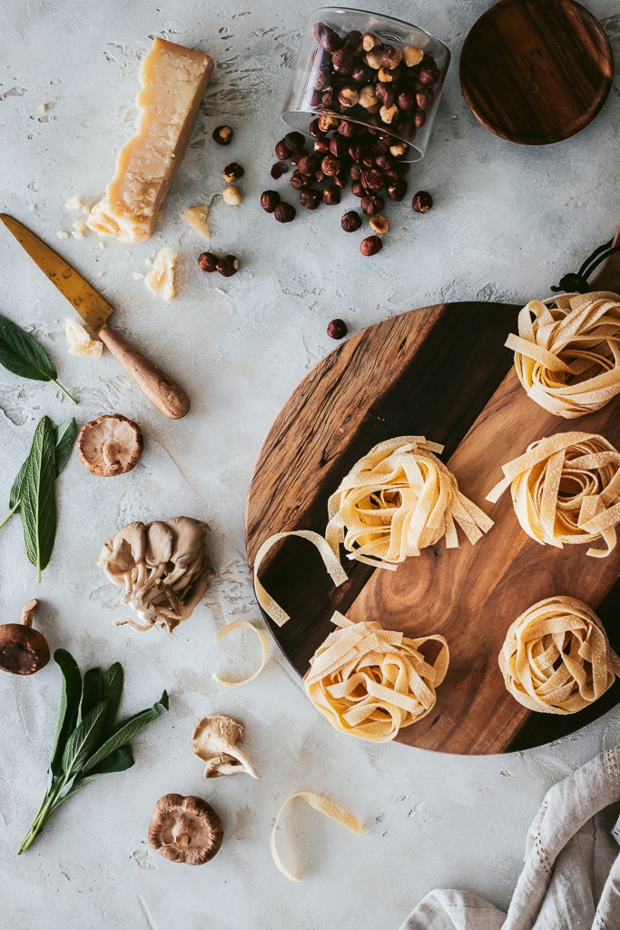tagliatelle noodles