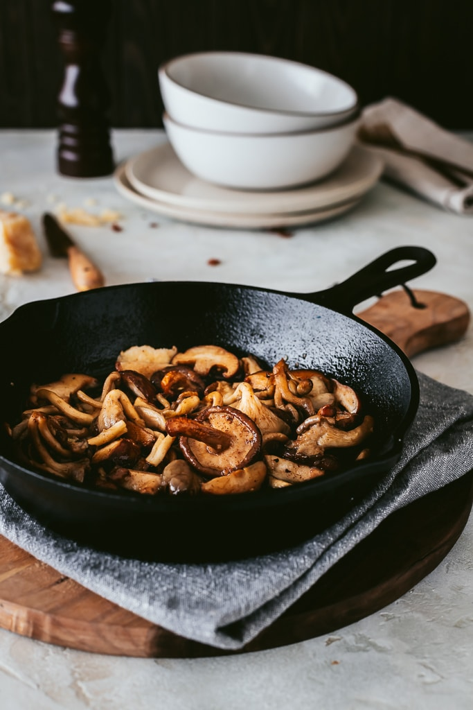 Sauteed wild mushrooms