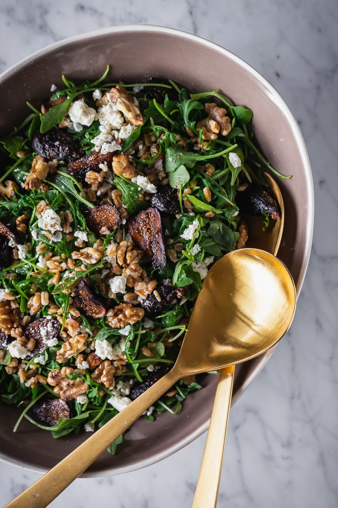 Farro and Fig Salad