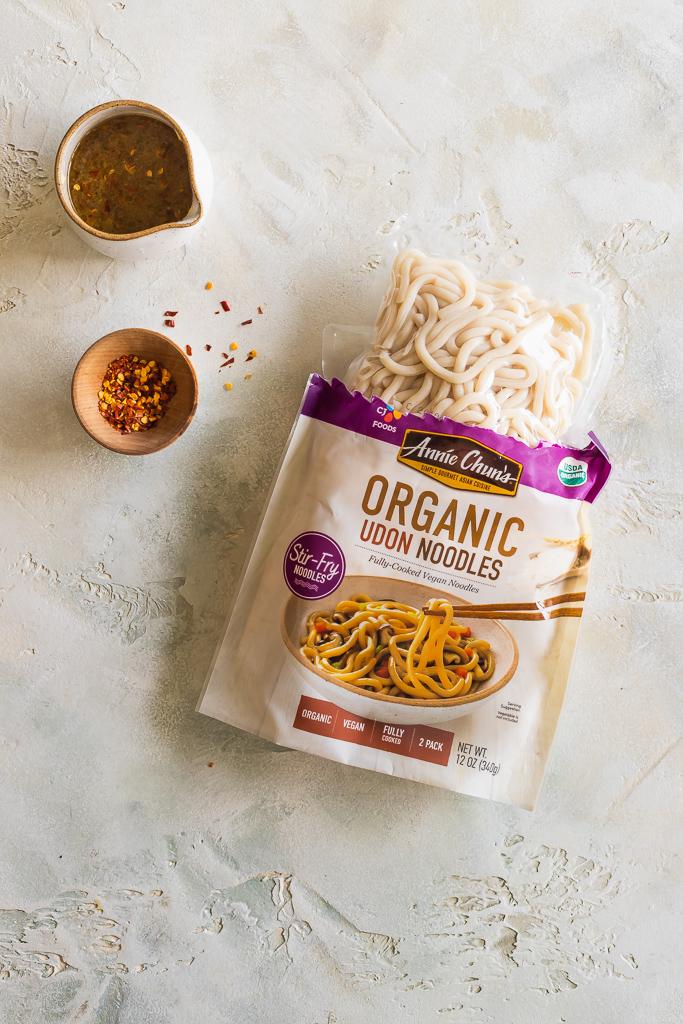 annie chun's organic udon noodles